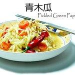 Pickled Green Papaya