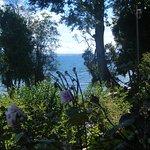 Vista del lago, desde la península.