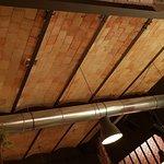 Plafonds en quart de voute de brique, conservés de l'époque active de la fonderie