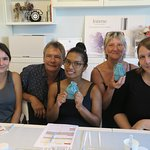 Thanks the sweet French family visited us for bespoke perfume making!