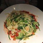 Spaghetti squash and zucchini