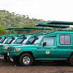 Our Extended Safari  Vehicle well maintained and ready for both group and private safari