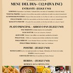 New Menu Del Dia Des De 12-2-19