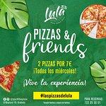 Cada miércoles en Lula: pizza and friends