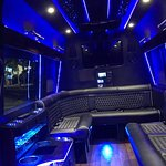 Sprinter Limo Inside