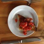 Bruscetta mit den besten Tomaten der Welt