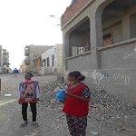 Nebenstraße in Al Qusier, einzige altägyptische Stadt am südlichen Roten Meer