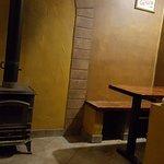 Piecyk i stolik