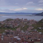 Approaching Puno by road