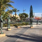 Lovely stroll along the marina from the Tourist information. Very helpful there for info of area & things to do. These musicians are a tribute to the various bands & musical groups in Torrevieja - good photo stop with plenty of bars & restaurants around
