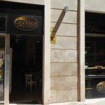 entrance to Granier cafe