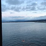 View of Monterey Bay from the table