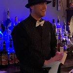 Speakeasy themed bar