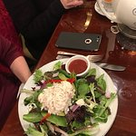 the Elizabeth salad with added chicken