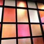 彩色玻璃窗牆