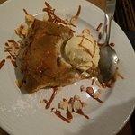 amazing Tart Tatin and vanilla Ice cream