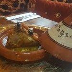 traditional Moroccan lamb tagine.