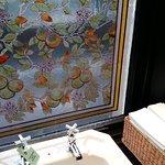 Gents toilet window