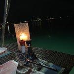 Notre table sur l'eau