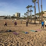eat the yummy cheesecake and then work it off at Marina Athletic Club Beach Bootcamp!