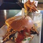 Black Hills Bison Burger - Prime 16 in New Haven, CT (12/Feb/19).