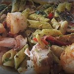 Pasta with Fish and Shrimp