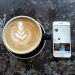 Latte and Instagram