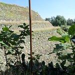 scavo della piramide, fianco rotondo