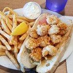 Shrimp Po-Boy w/fries