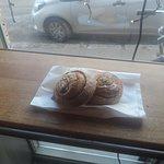 Delicious cinnamon buns at Braud & Company