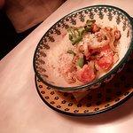 Равиоли с брискетом и крепким соусом