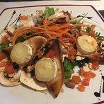 Salade chevre chaud vraiment délicieuse