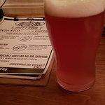 Cerveza con frambuesa