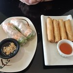 Spring rolls and Vietnamese egg rolls