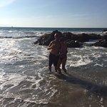 Ocean was warm