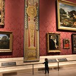 """Hit up one of the MFA's Saturday """"play dates"""" for the first time. Little guy loved it."""