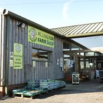 Allington farm shop and cafe.
