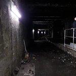 Victorian tunnel and platform
