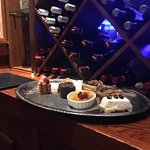 Good wine list, excellent drinks and good choices on the dessert menu.