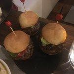 Mini burgers de bœuf au cumin