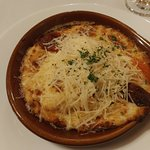 Hot Brown, this is a half portion