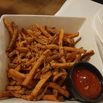 Bourbon Barrel Fries - could share with 4!
