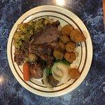 My buffet plate