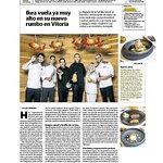 Reportaje en El Correo