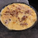 Skillet Mac & Cheese with bacon