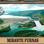 mirante da hidroelétrica de furnas