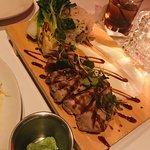 Grilled Ahi Steak - YUMz x3