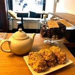 Mountain tea with dessert