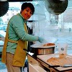 Crêpes cuites sur place tous les jeudis et le dimanch matin