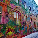 Kensington Market and Spadina Avenue Foto